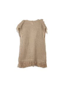 Pumpkin Patch Annalise Fringed Vest