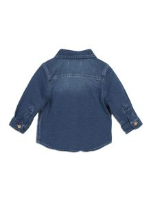 Pumpkin Patch Denim Knit Shirt
