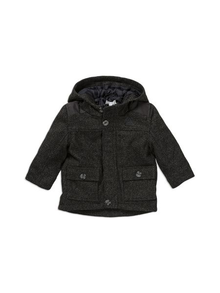 Pumpkin Patch Textured Duffle Coat