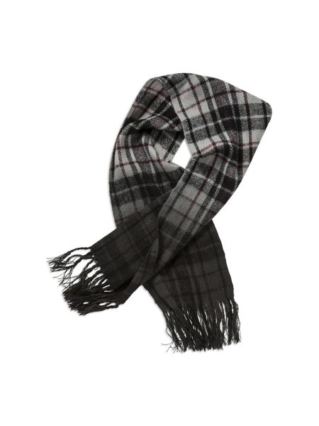 Pumpkin Patch Boys Dip Dyed Check Scarf