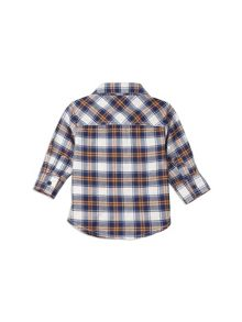 Pumpkin Patch Long Sleeve Check Shirt