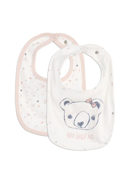 Pumpkin Patch Bear Hug Bibs