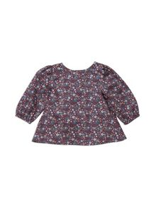 Pumpkin Patch Tiny Floral Top