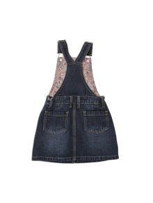 Pumpkin Patch Denim Pinny