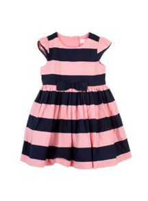 Pumpkin Patch Bold Stripe Dress