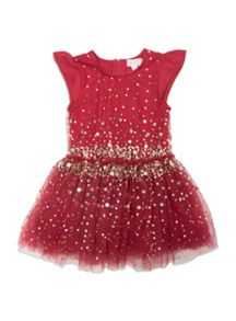 Pumpkin Patch Tulle Sequin Dress