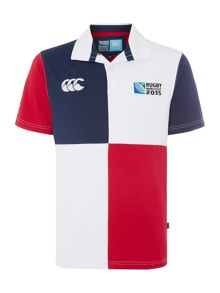 Rugby World Cup 2015 Rugby World Cup 2015 Check Rugby Neck Regular Fit