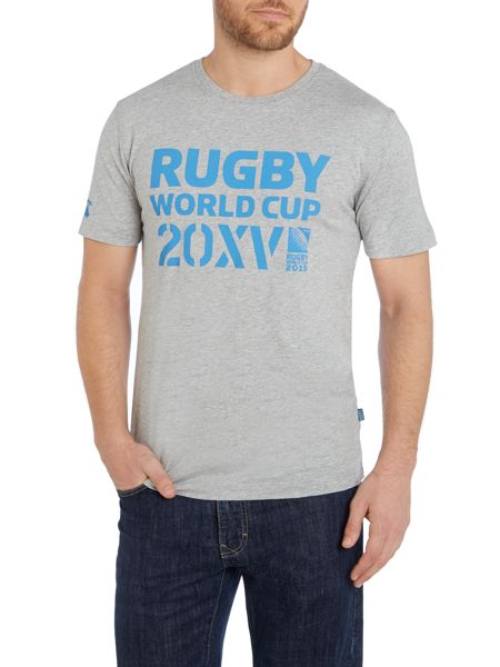 Rugby World Cup 2015 Logo Crew Neck Regular Fit T-Shirt