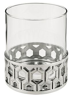 Bar whisky tumbler hexagon