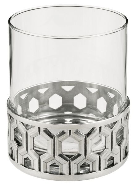 Royal Selangor Bar whisky tumbler hexagon