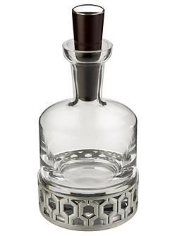 Bar whisky decanter hexagon