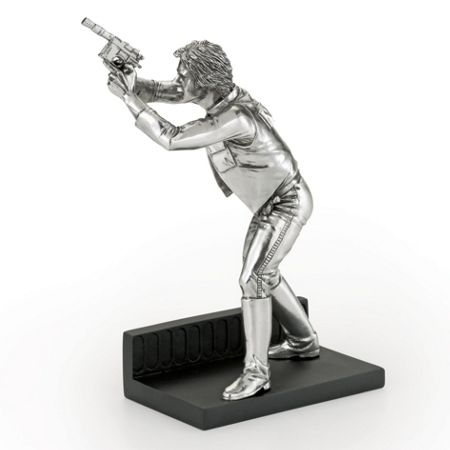 Royal Selangor Star Wars Limited Edition Han Solo Figurine