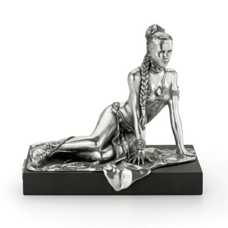 Royal Selangor Star Wars Limited Edition Princess Leia Figurine