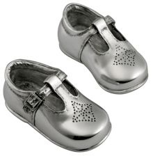 My first shoes - filled pewter