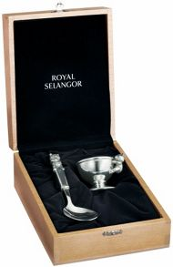 Royal Selangor Egg cup and Spoon set