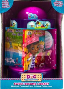 Doc McStuffins Sweet Dreams Library Carousel (5 Books)