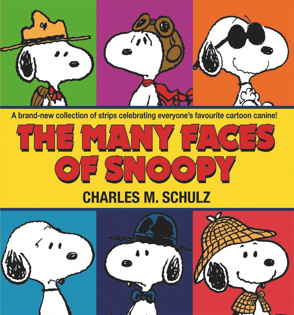 The Many Faces of Snoopy Book