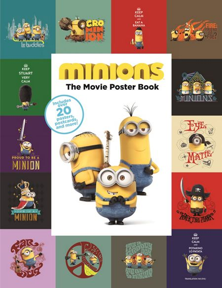 Despicable Me Minions Movie Poster Book