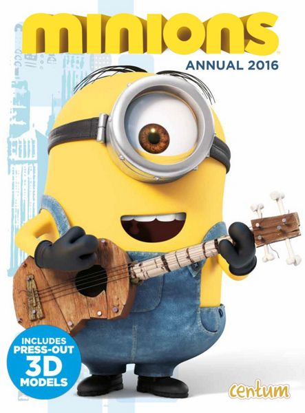 Minions Movie Official Movie Annual 2016