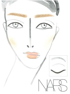 NARS Christopher Kane LFW AW13 Look