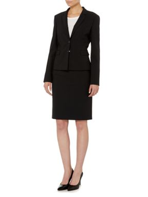 BOSS Fundamentals Skirt Suit