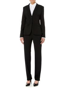 BOSS Fundamentals Black Suit