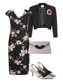 Statement Floral Dress