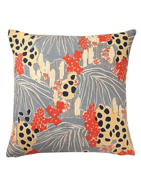 Linea Abstract Floral Cushion