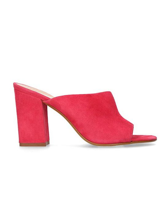 Carvela Grappa Suede Heeled Mule