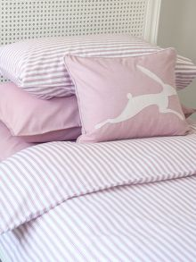 Ticking Stripe bed linen range