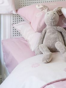 Harriet Hare Plain Jacquard bed linen range