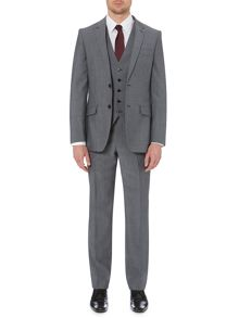 Grey Mohair Three Piece Suit