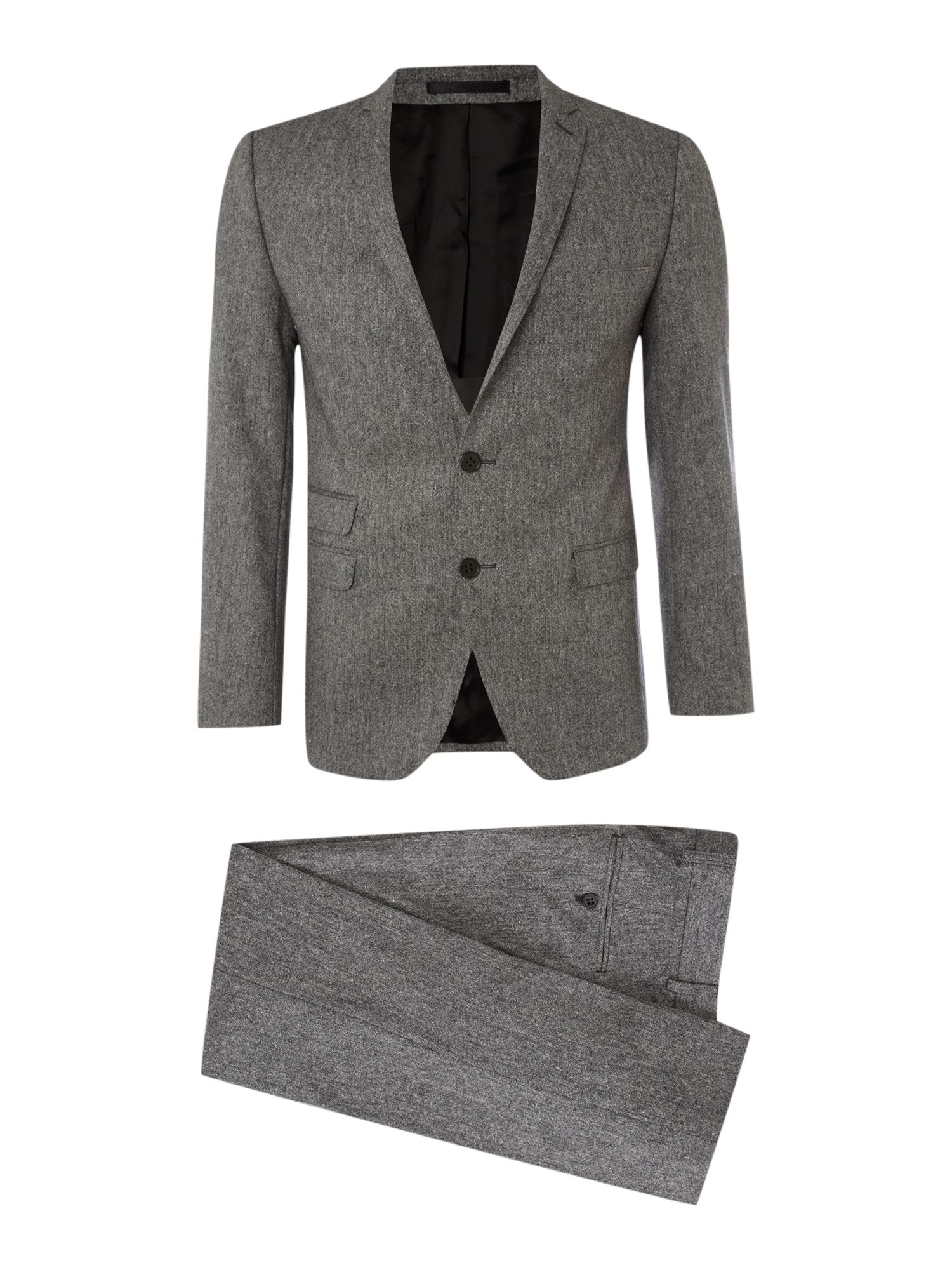 Semi plain camden fit suit