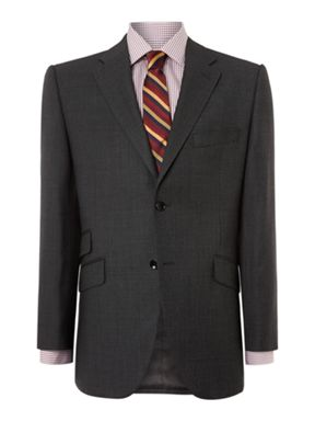 Howick Tailored Crawford Birdseye Suit
