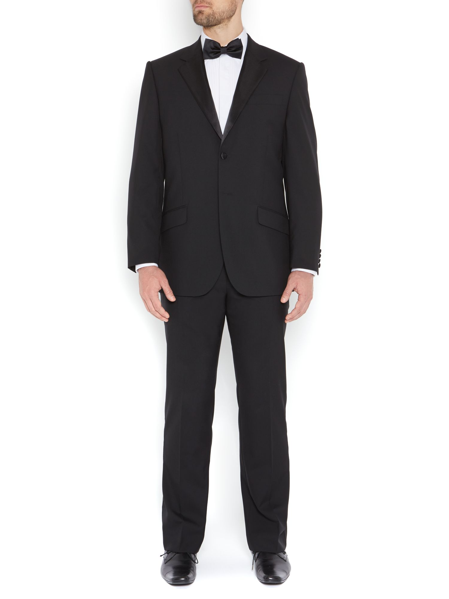 Powell Evening Tuxedo With Satin Tipping