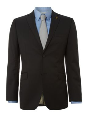 Ted Baker Single breasted golden ewe suit