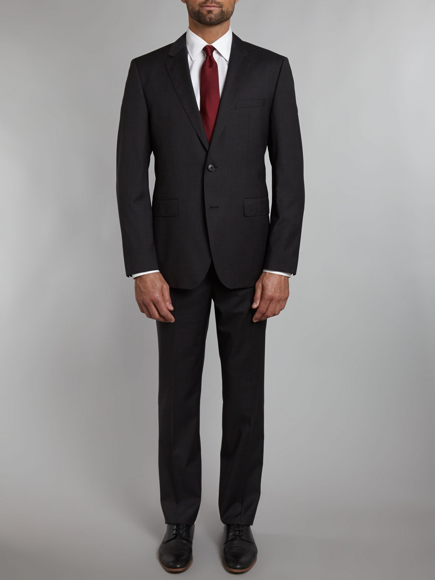 Rider regular fit suit