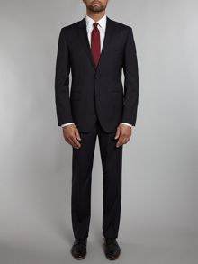 Rider/shout regular fit two-piece suit