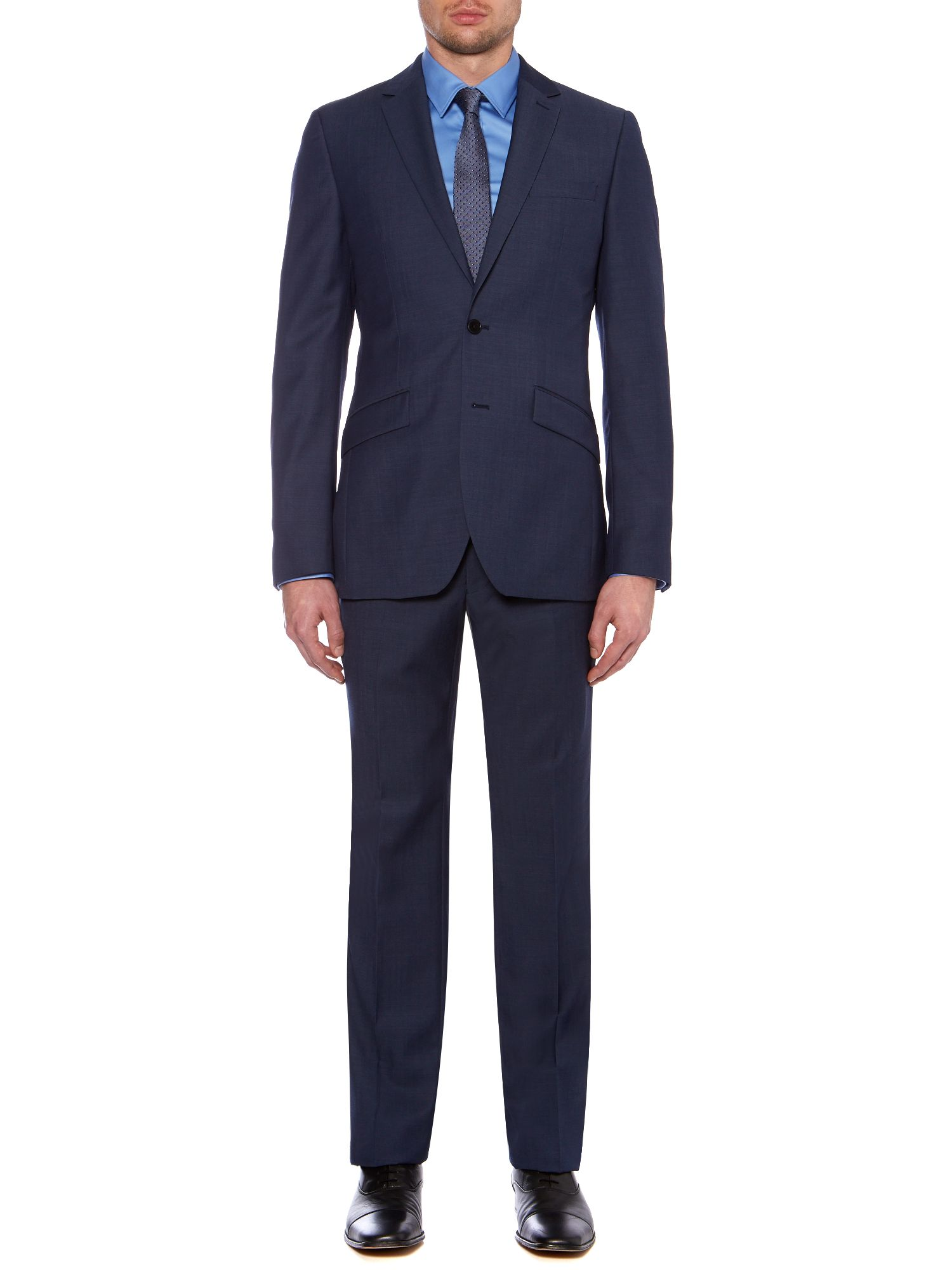 Byram twill travel suit
