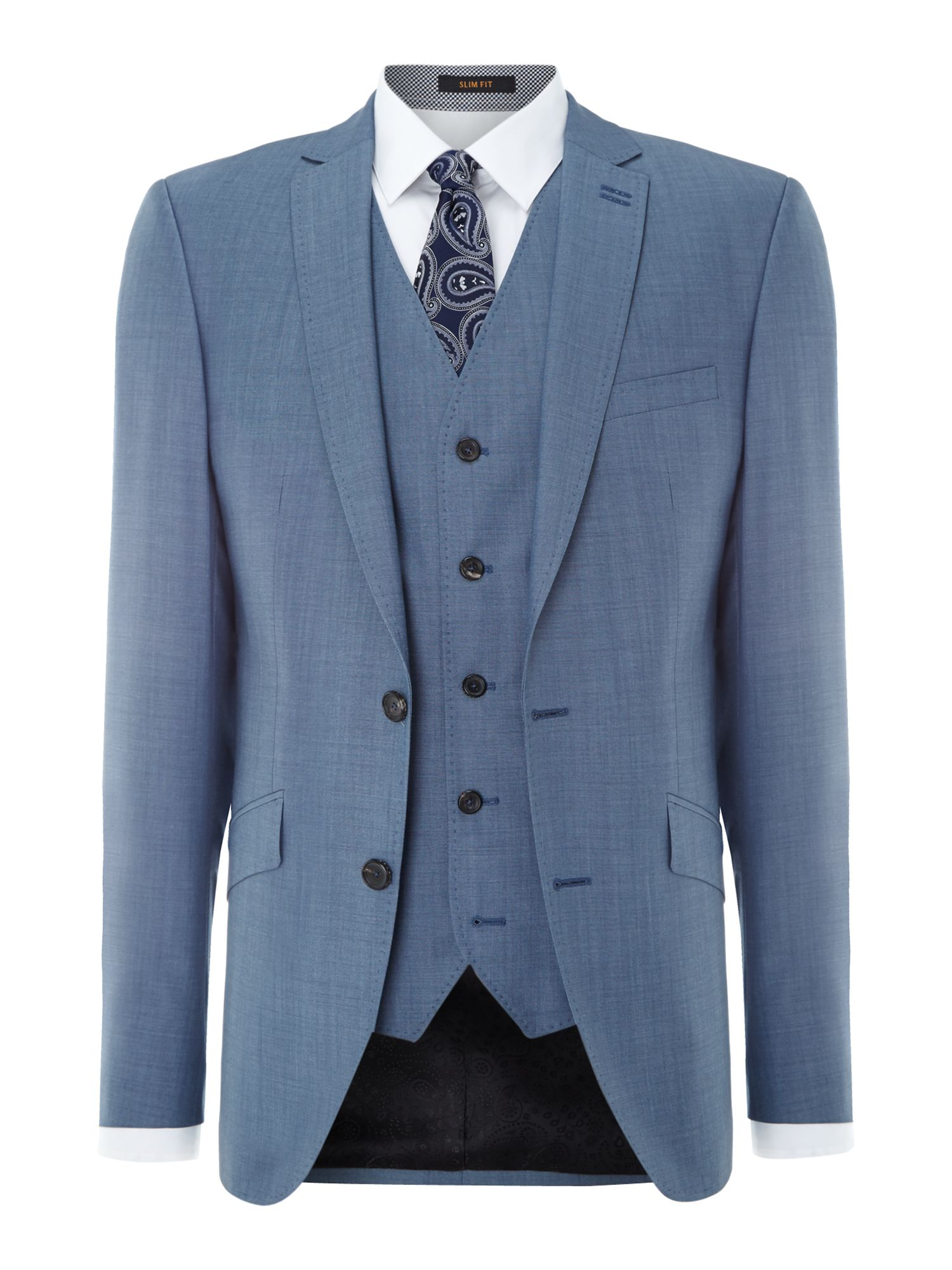 Slim fit tonic suit