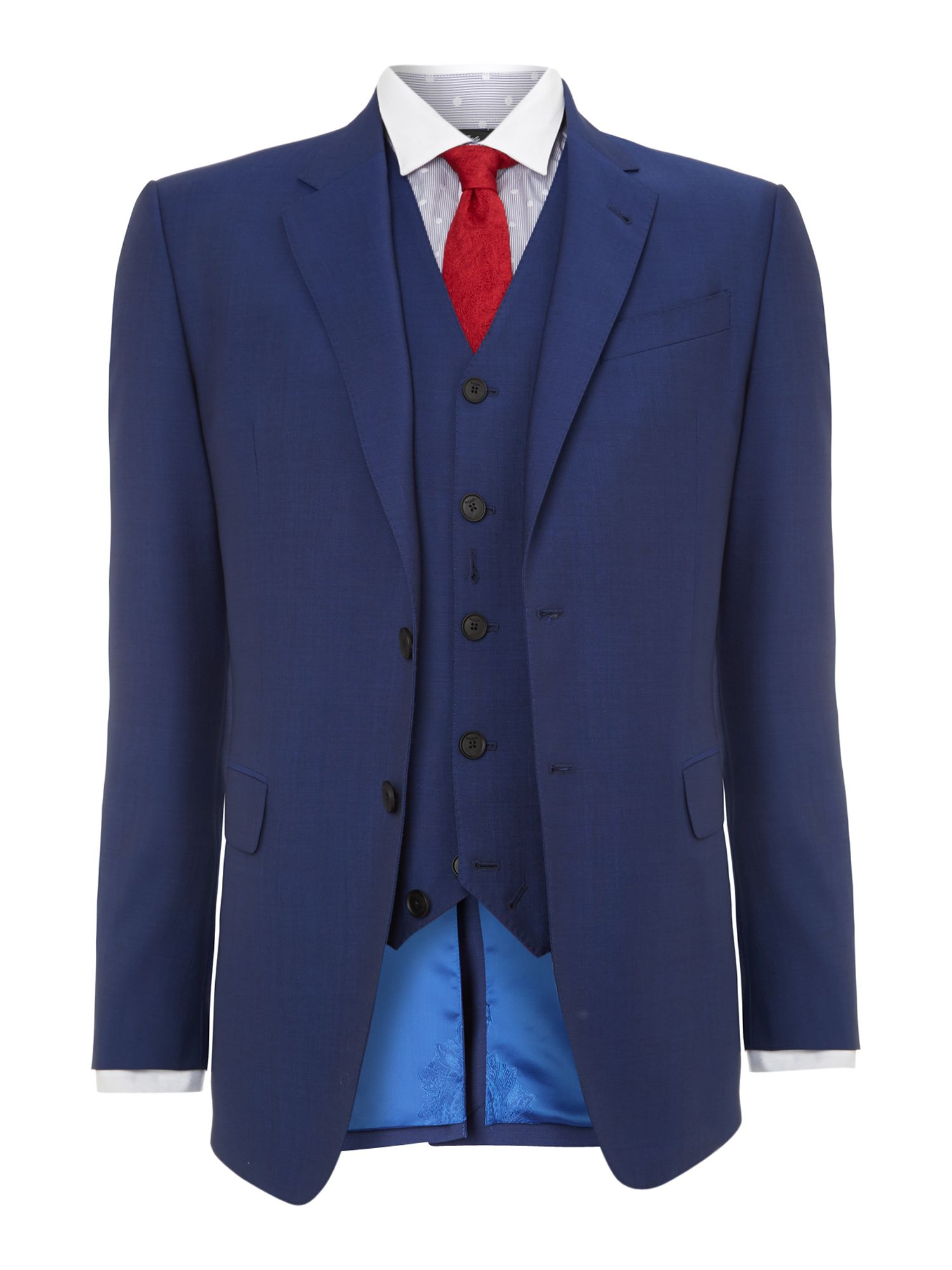 Byard slim fit mohair suit