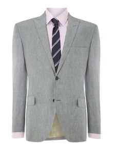 Lyon linen Prince of Wales check suit
