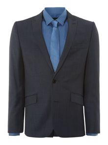 Kenneth Cole Christopher pindot slim fit suit