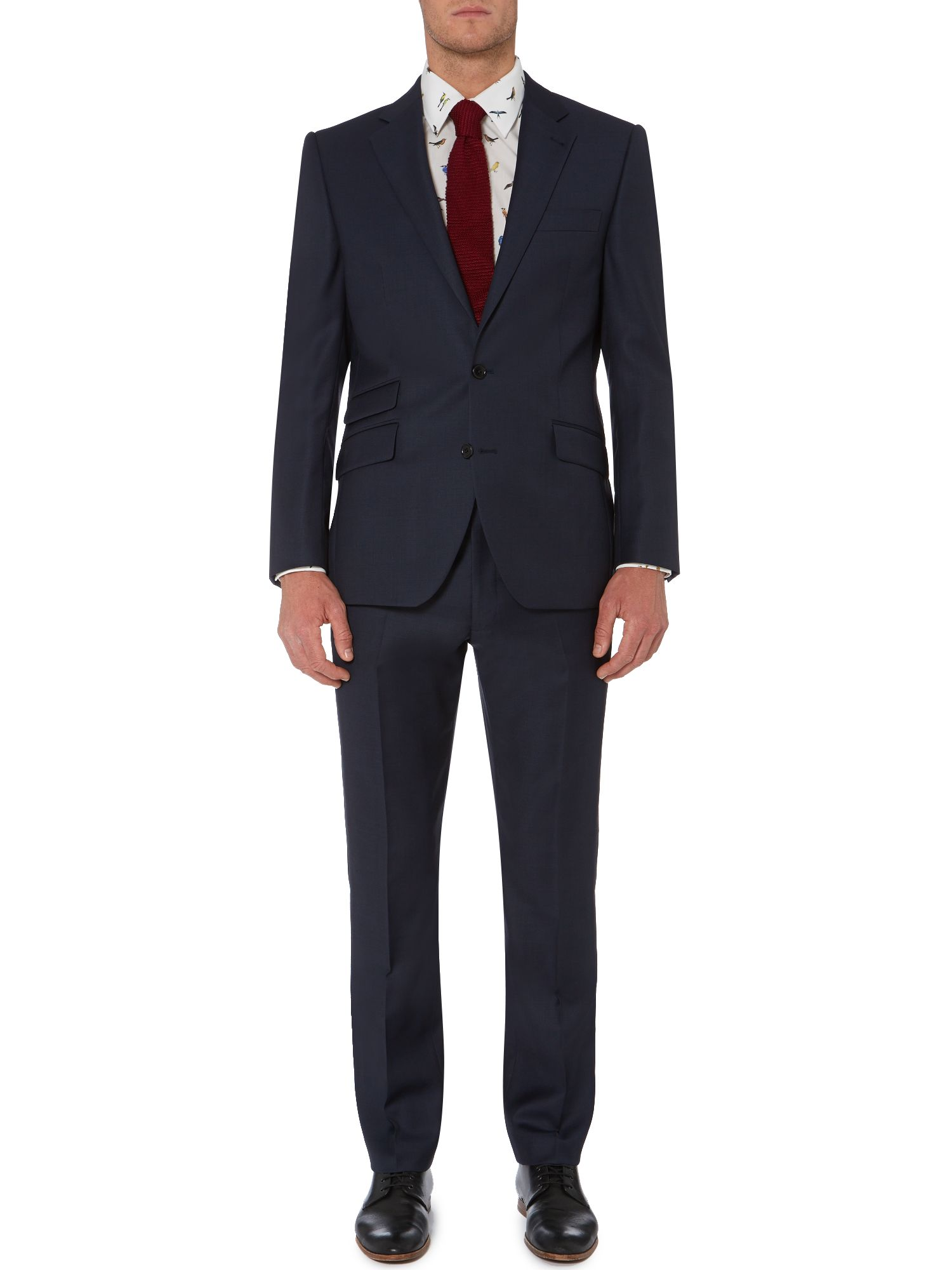 Heath sharkskin suit