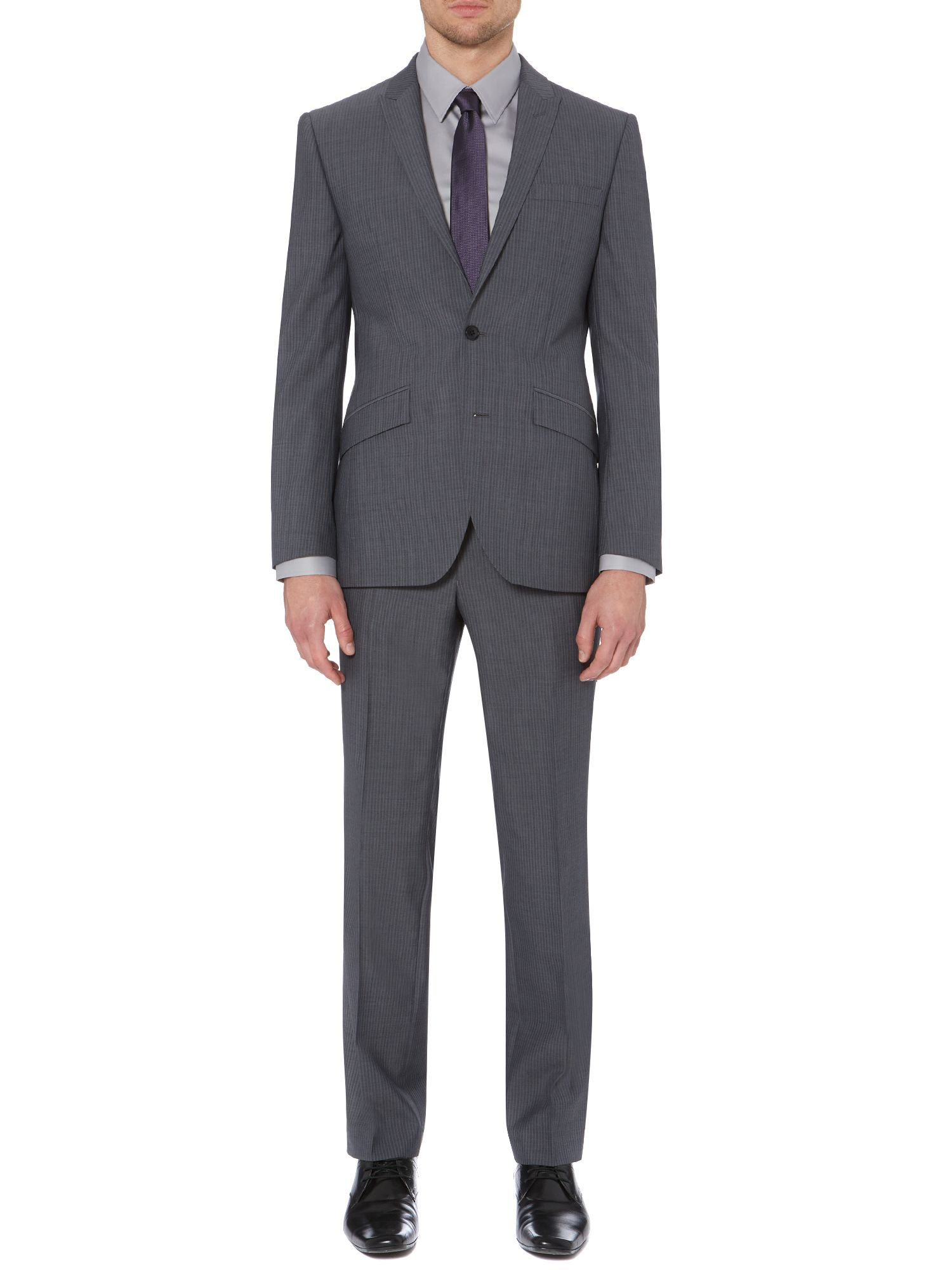 Arion single breasted shadow stripe suit