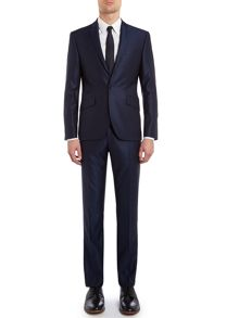 Pinsent wool/silk tonic suit