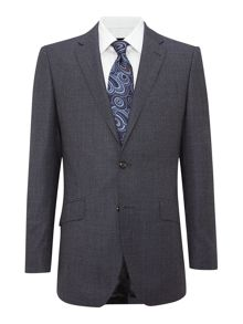 Birdseye regular fit suit