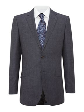 Simon Carter Birdseye regular fit suit
