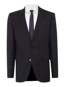 Shadowcheck slim fit two piece suit