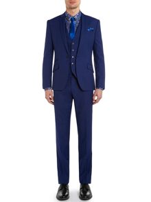 Lance Micro Texture Slim Fit Suit
